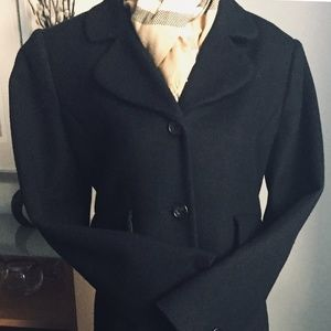VICTORIA SECRET 100% Wool 3/4 length coat